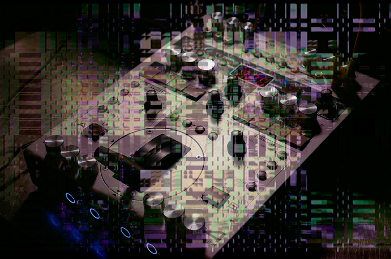 Circuit-Bent-Roland-Edirol-v4-Glitch-Art-Mixer